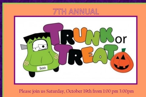 Click here to read more on the 7th Annual Trunk or Treat.