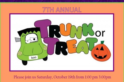 Click here to read the full article on 7th Annual Trunk or Treat at GLC