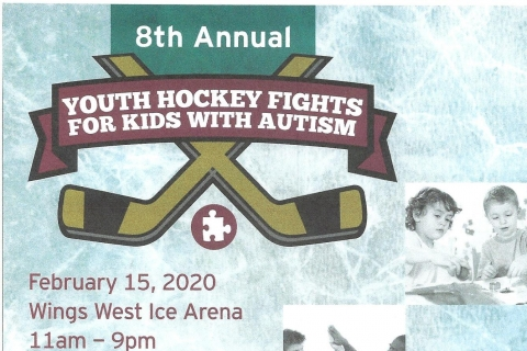 Click here to read the full article on 8th Annual Youth Hockey Fights for Kids with Autism